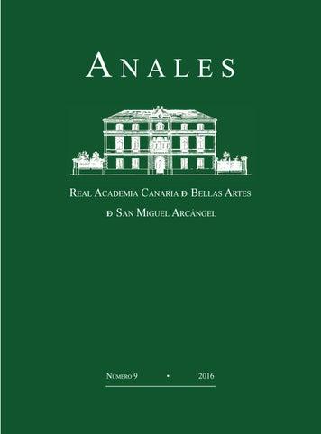 2016 - Revista ANALES de la RACBA núm 9 by Real Academia Canaria de ... 29a7ef930715