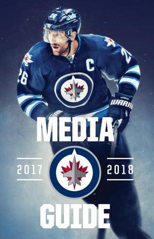 quality design b718d 65ba3 2017-18 Winnipeg Jets Media Guide by Winnipeg Jets - issuu