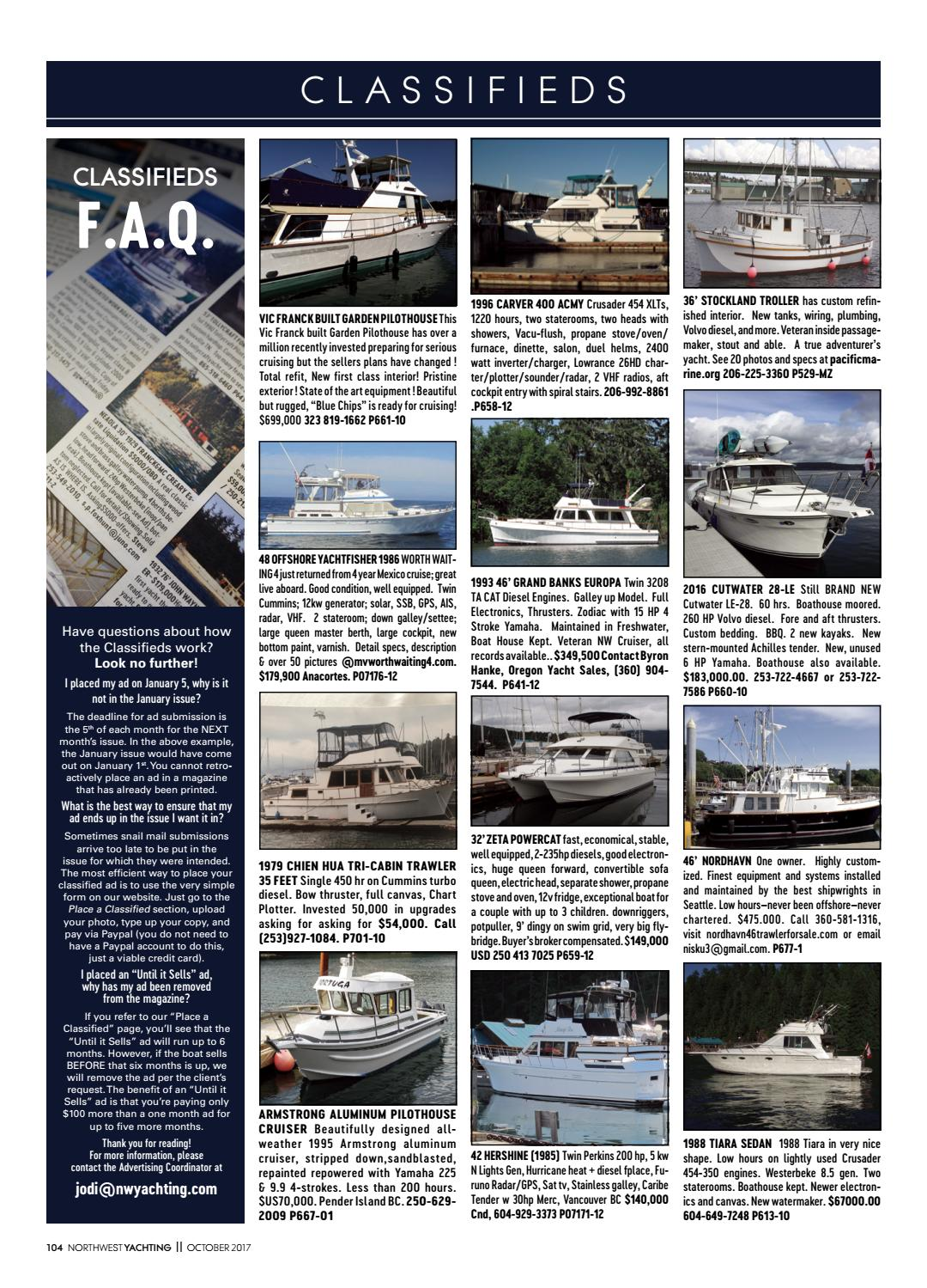 Northwest Yachting October 2017