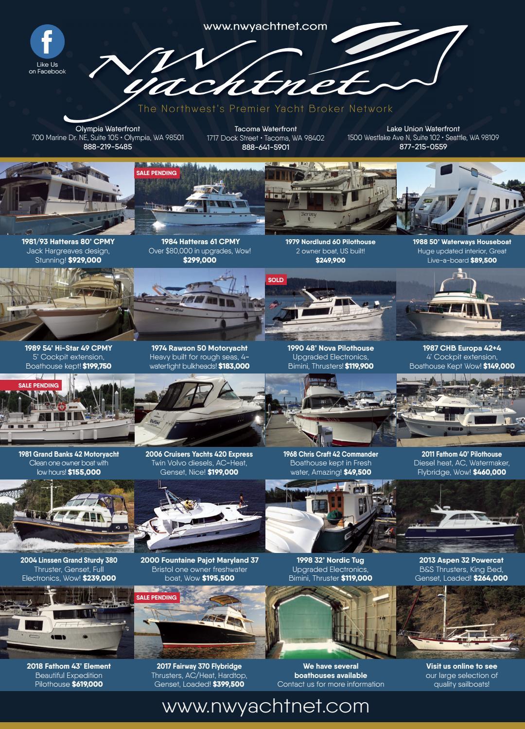 Northwest Yachting October 2017 by Northwest Yachting - issuu