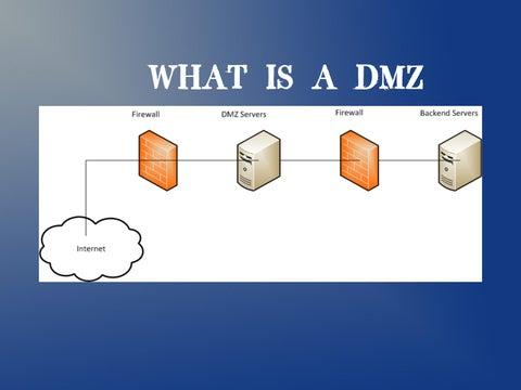What is a DMZ by Tatiana Dulce - issuu