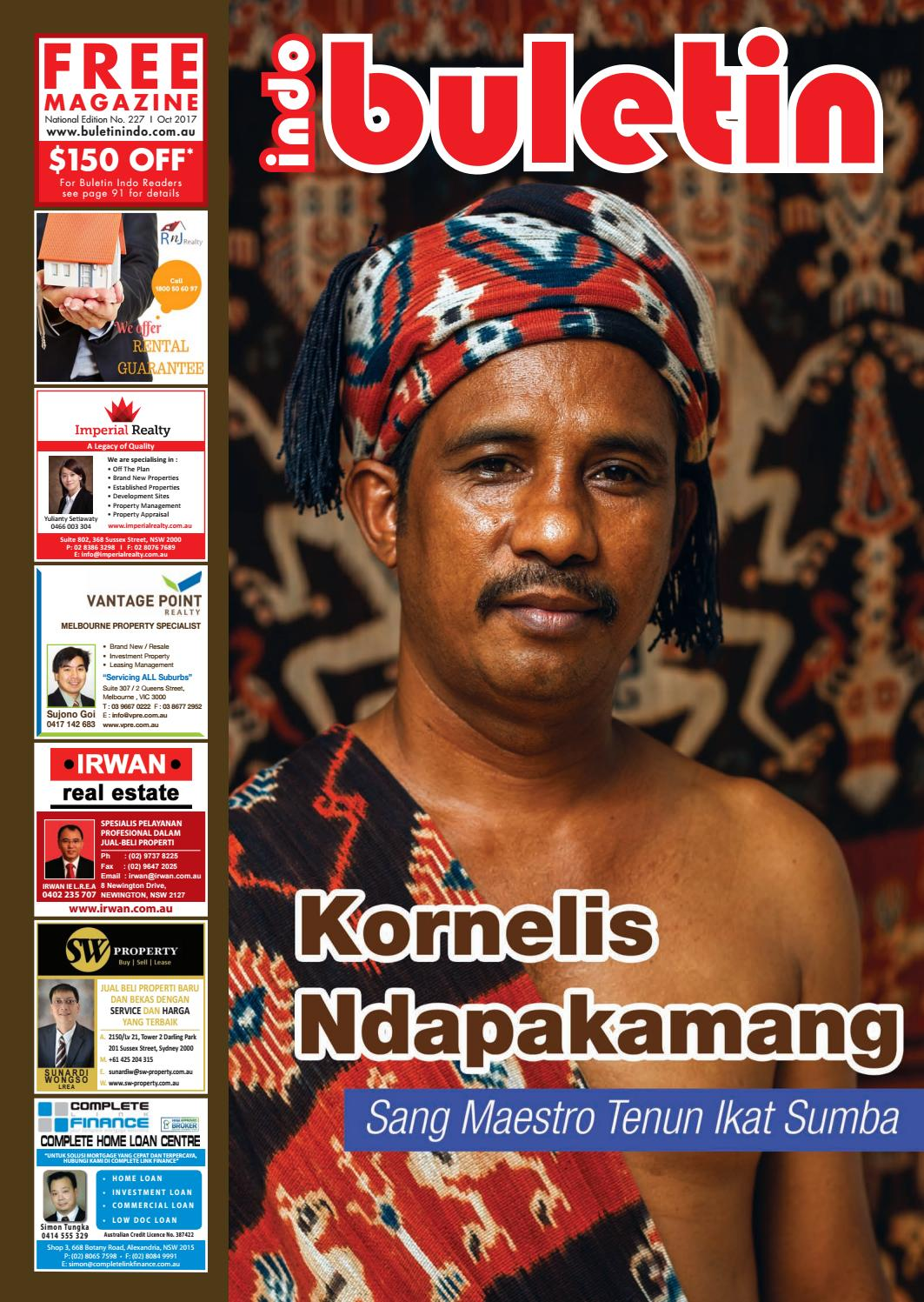 Buletin Indo October 2017 By Issuu Krezi Kamis 25  Karpet Pp Rug 100x150 Ter Free Ongkir