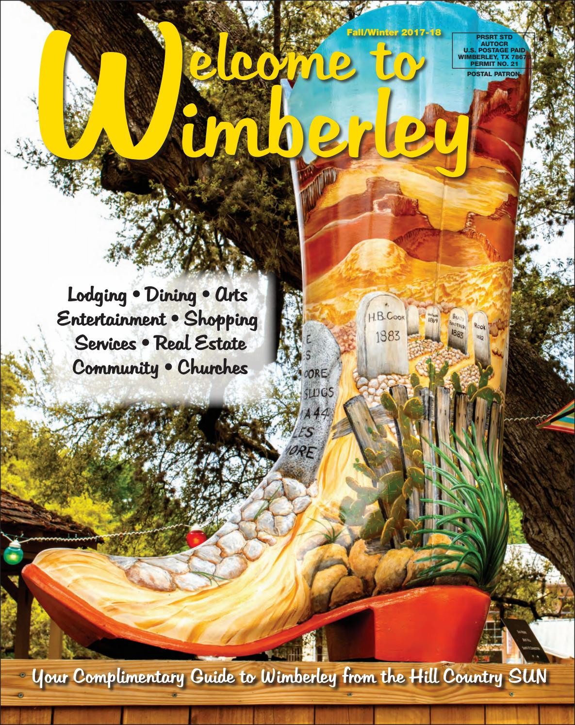 Welcome to Wimberley Fall/Winter 2017-18 by Julie Harrington