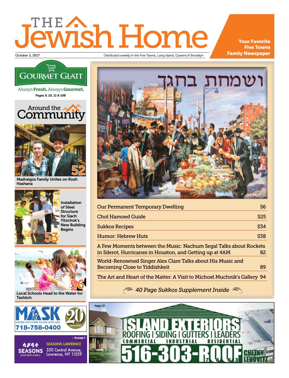 Five Towns Jewish Home - 10-3-17 by Yitzy Halpern - issuu 40afd9119