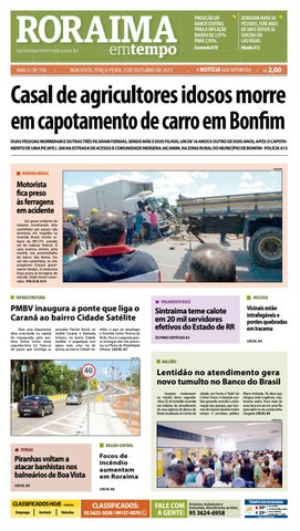 6fcc7ac2705 Jornal roraima em tempo – edição 746