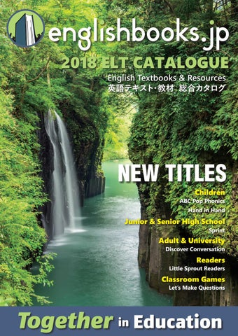 Englishbooksjp 2018 Elt Catalogue By Englishbooksjp Issuu