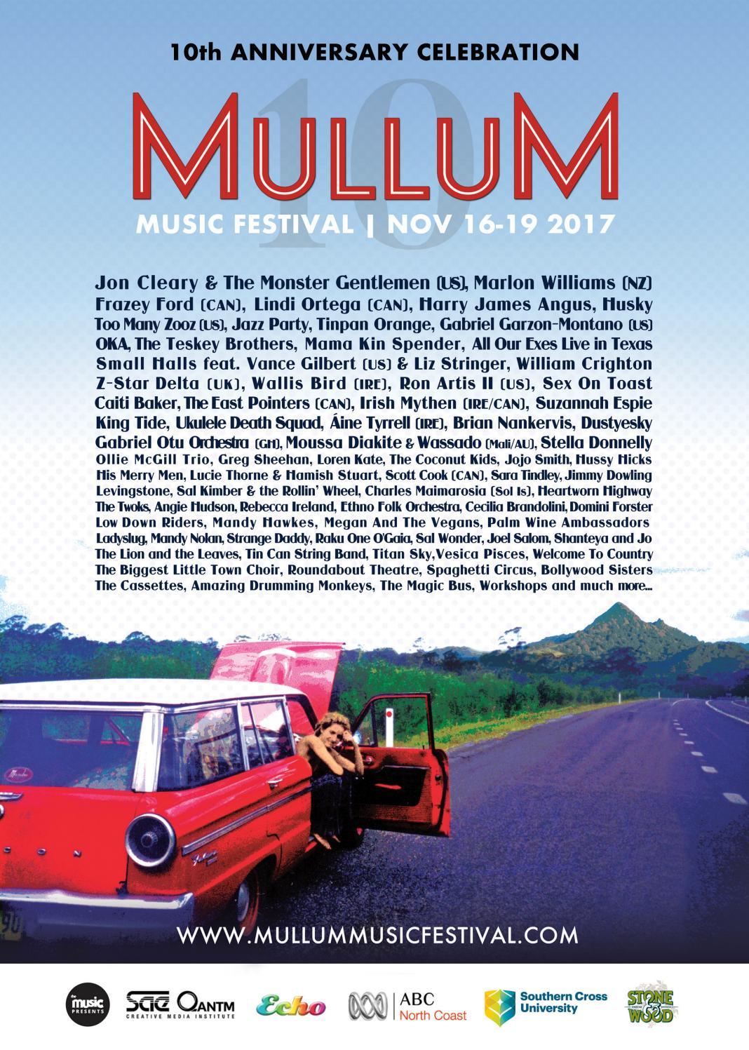 Mullum Music Festival 2017 By Red Square Music Issuu