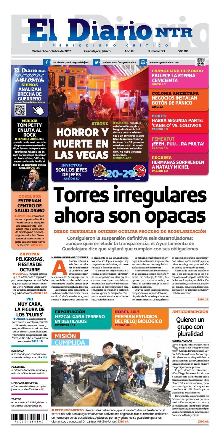 El Diario NTR 893 by NTR Guadalajara - issuu