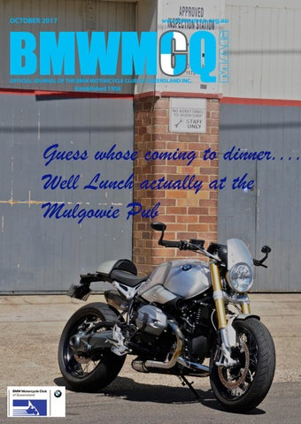 bmwmcq journal october 2017 by bmw motorcycle club queensland issuu