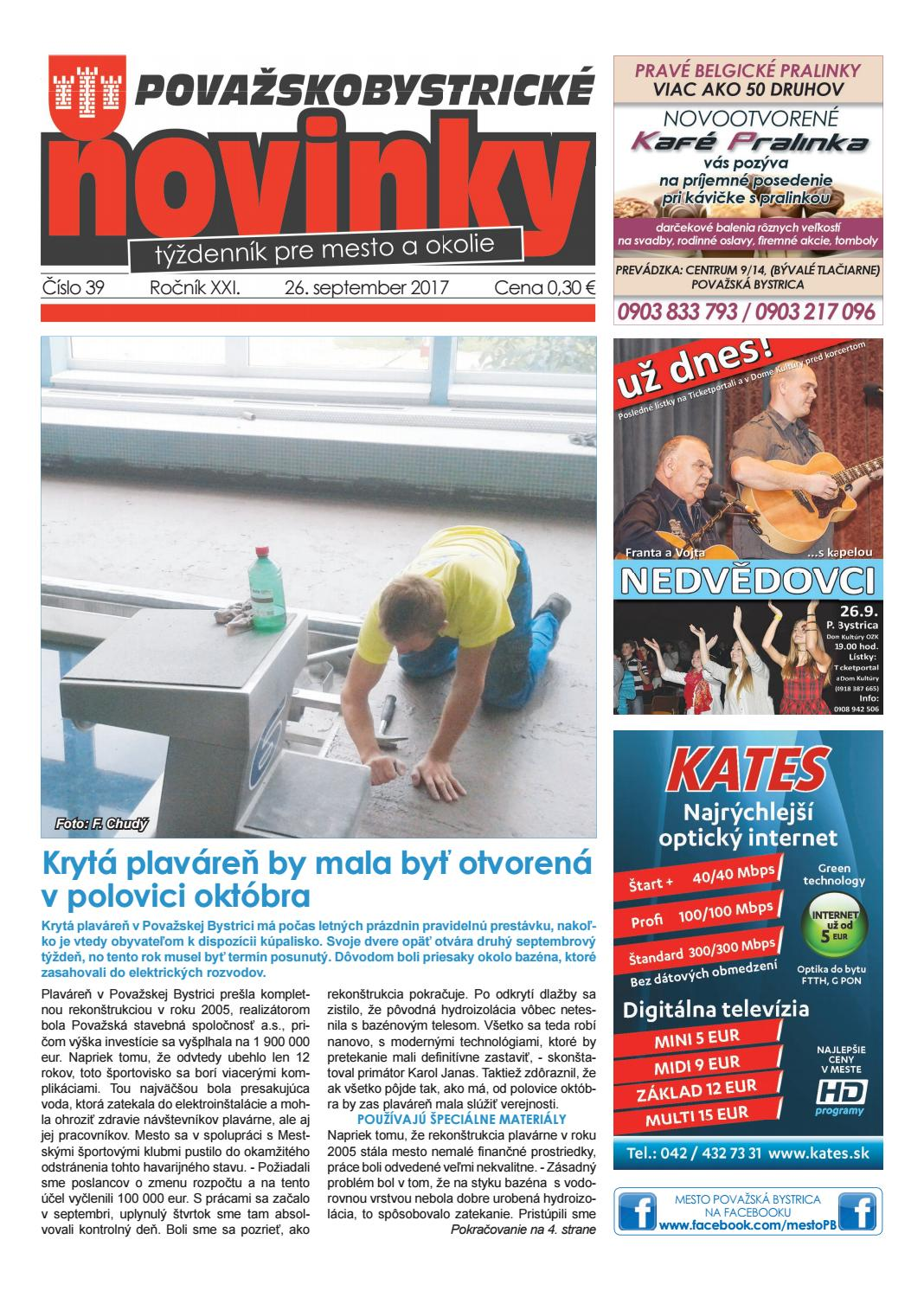 Považskobystrické novinky č. 39 2017 by Považskobystrické novinky - issuu 5f3f8e44cfc