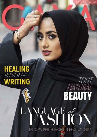 5997f6e716b GAYA Magazine October 2017 - Hijab   Modest Fashion for today s ...