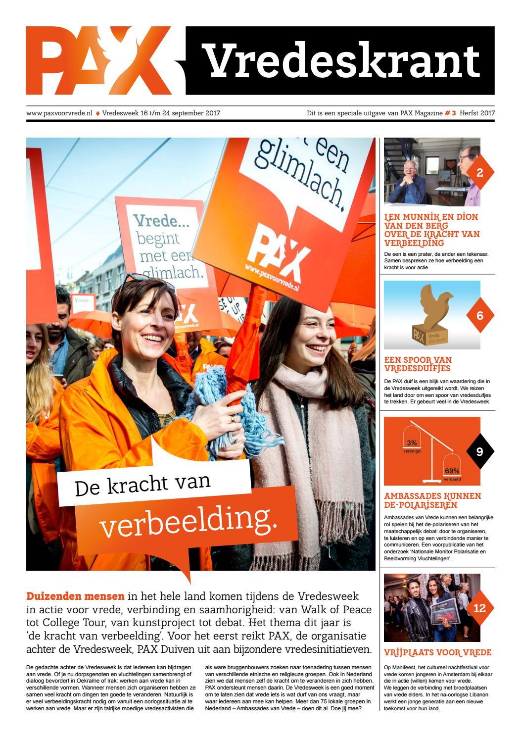 839eeb09eeec33 Vredeskrant 2017 / PAX Magazine 3 by Vredesbeweging PAX - issuu
