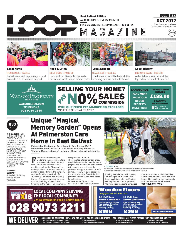 Loop Mag East Belfast October 2017 By Loop Publications