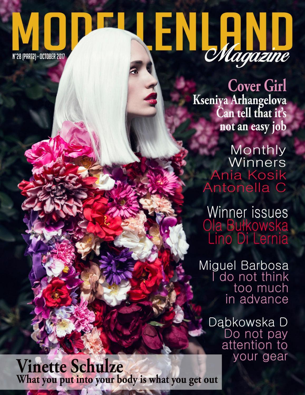 Ana Walczak Nude issue28 (part2) october 2017modellenland magazine - issuu