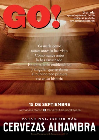 Revista GUIA GO! Granada 4dfdd84d52447