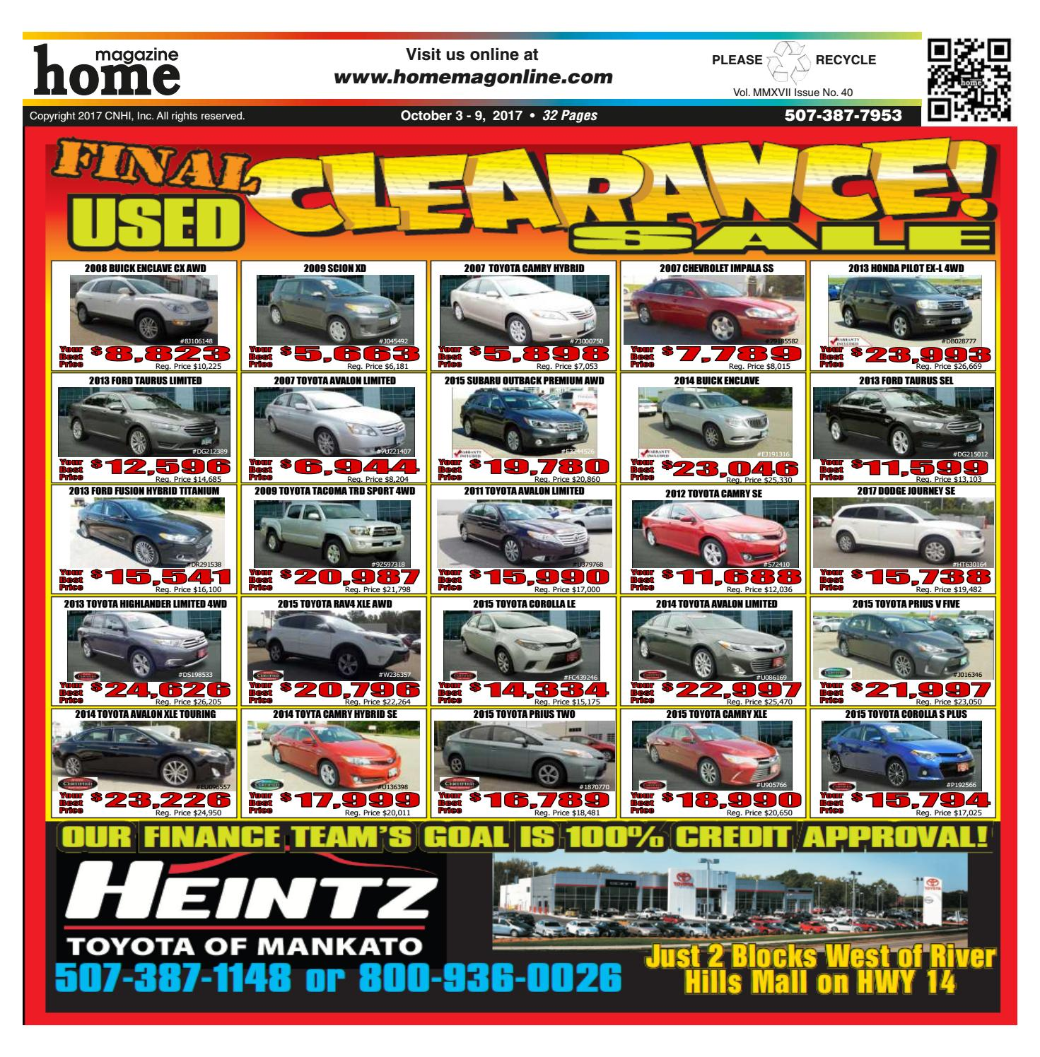 2014 Toyota Avalon Xle Premium: Home Magazine Issue 10/03/17 By Home Magazine Online