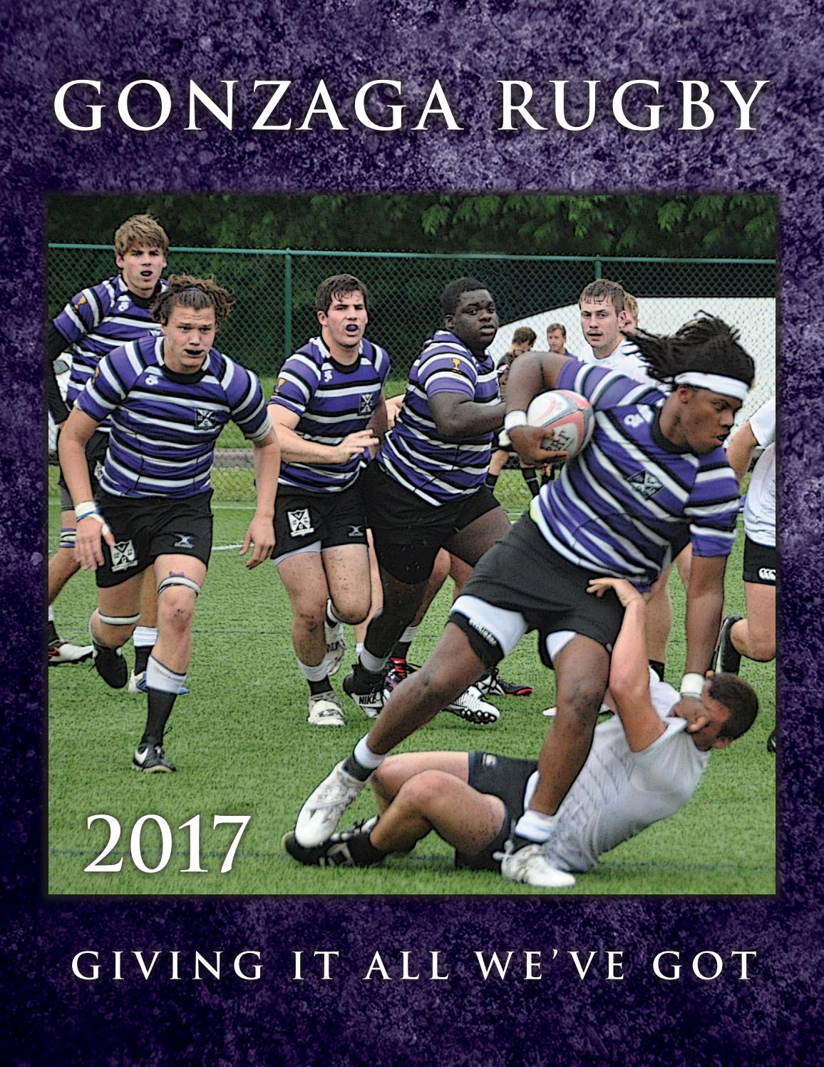 Gonzaga Rugby Yearbook 2017
