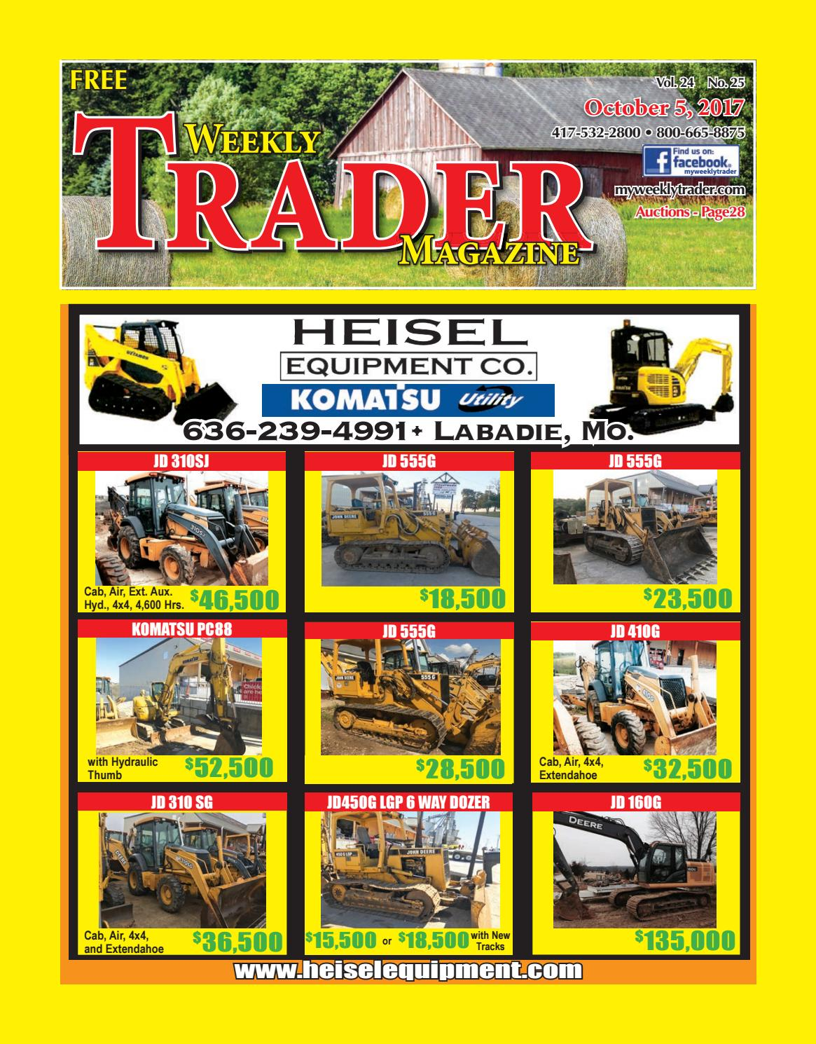 Weekly Trader October 5 2017 By Issuu Bor Impact Drivers Wrench Ryobi Iw 2000