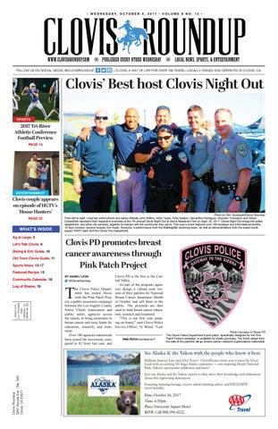7fd9b69a343b8 Clovis Roundup - October 4