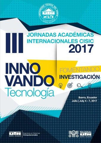 d2af0ac5ab54 III jornadas 2017 digital by Andrés Garzón - issuu