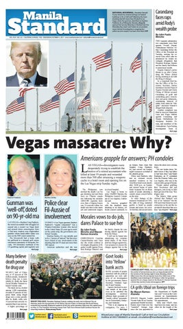 Manila Standard - 2017 October 4 - Wednesday by Manila