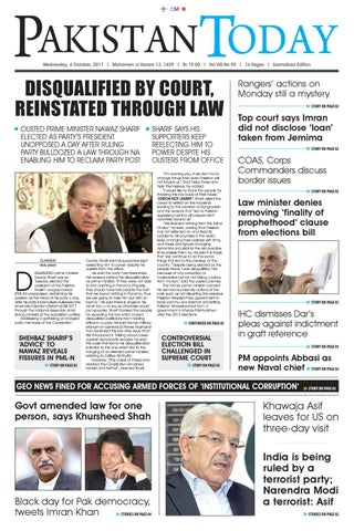 E paper pdf 4th october (isb) by Pakistan Today - issuu