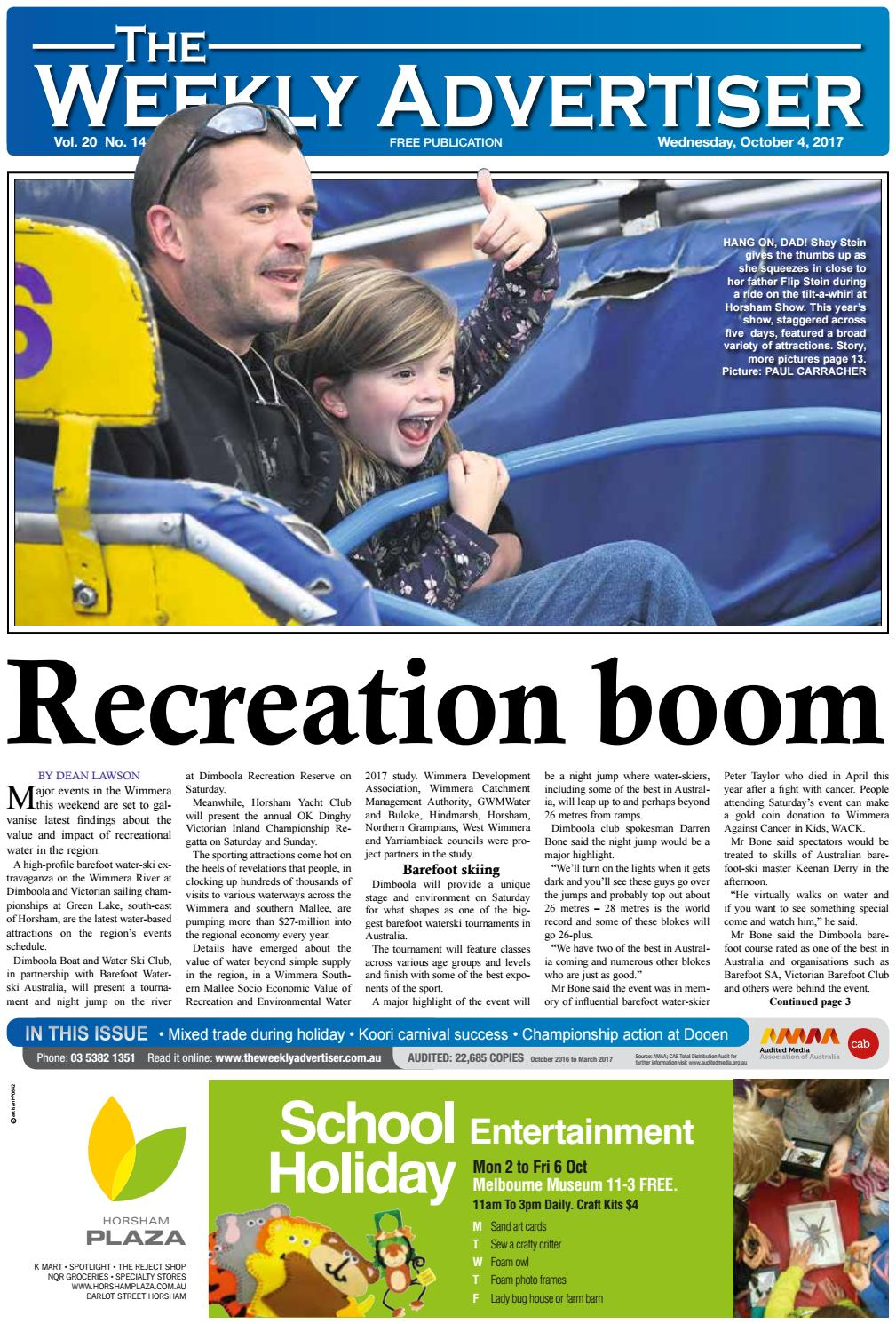 dde3055cc3196 The Weekly Advertiser - Wednesday