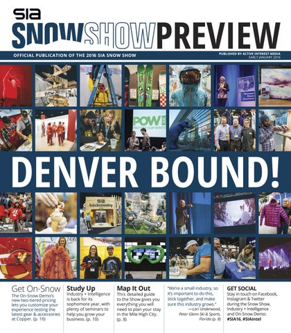 SIA Snow Show Preview 2016 by Active Interest Media-Boulder - issuu b2e21484d