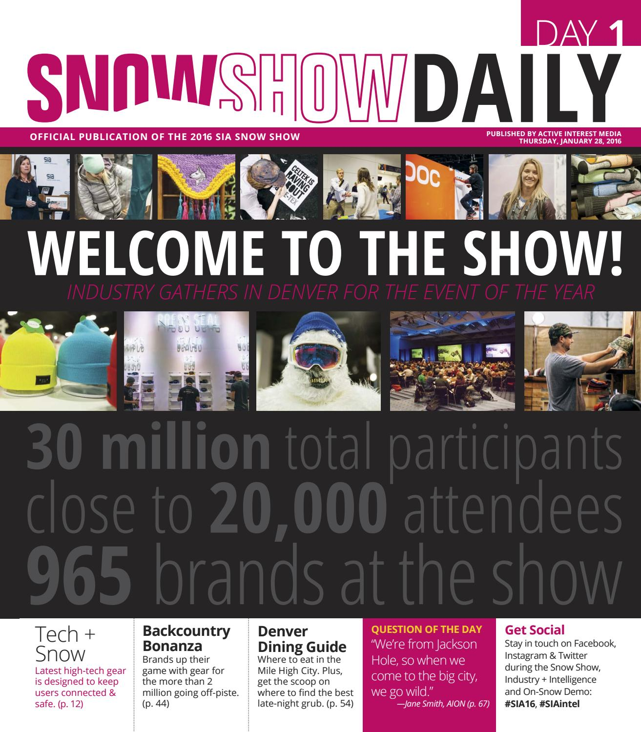 282d23629b218 SIA Snow Show Day1 2016 by Active Interest Media-Boulder - issuu