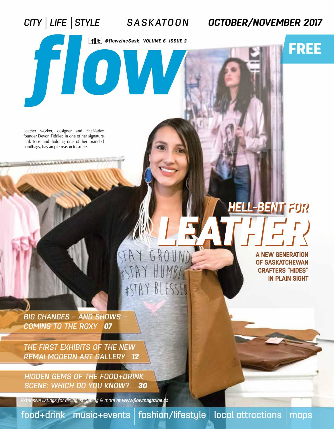 015ffd880d8 The Leather issue! Oct Nov 2017 by flow magazine - issuu