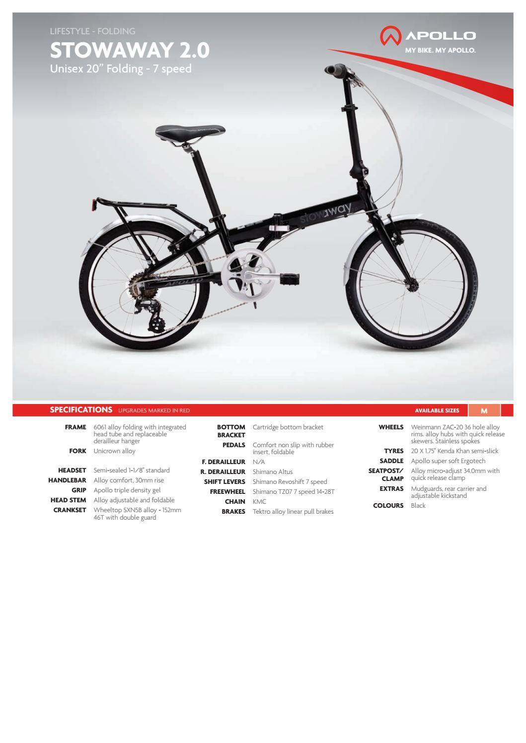 Apollo 2012 Catalogue by Apollo Bicycles - issuu 829e8e7ffc