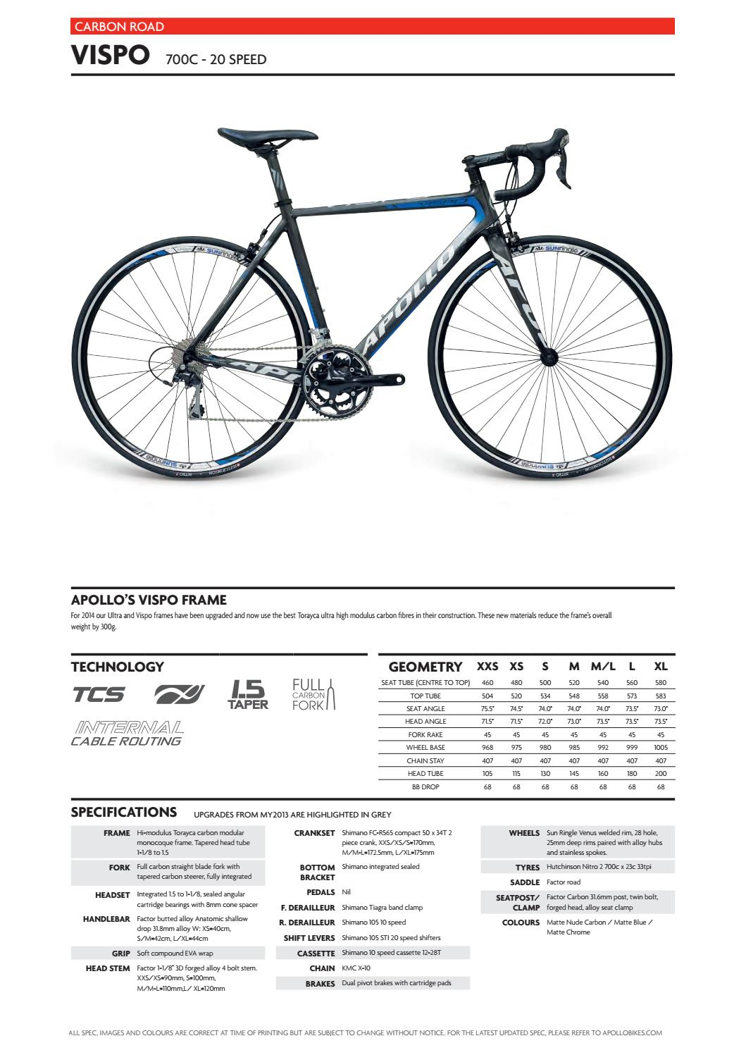 Apollo 2014 Catalogue by Apollo Bicycles - issuu