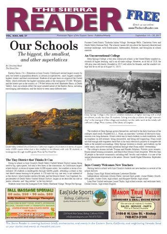 4489ed74b0ed The Sierra Reader 14 september by The Sierra Reader - issuu