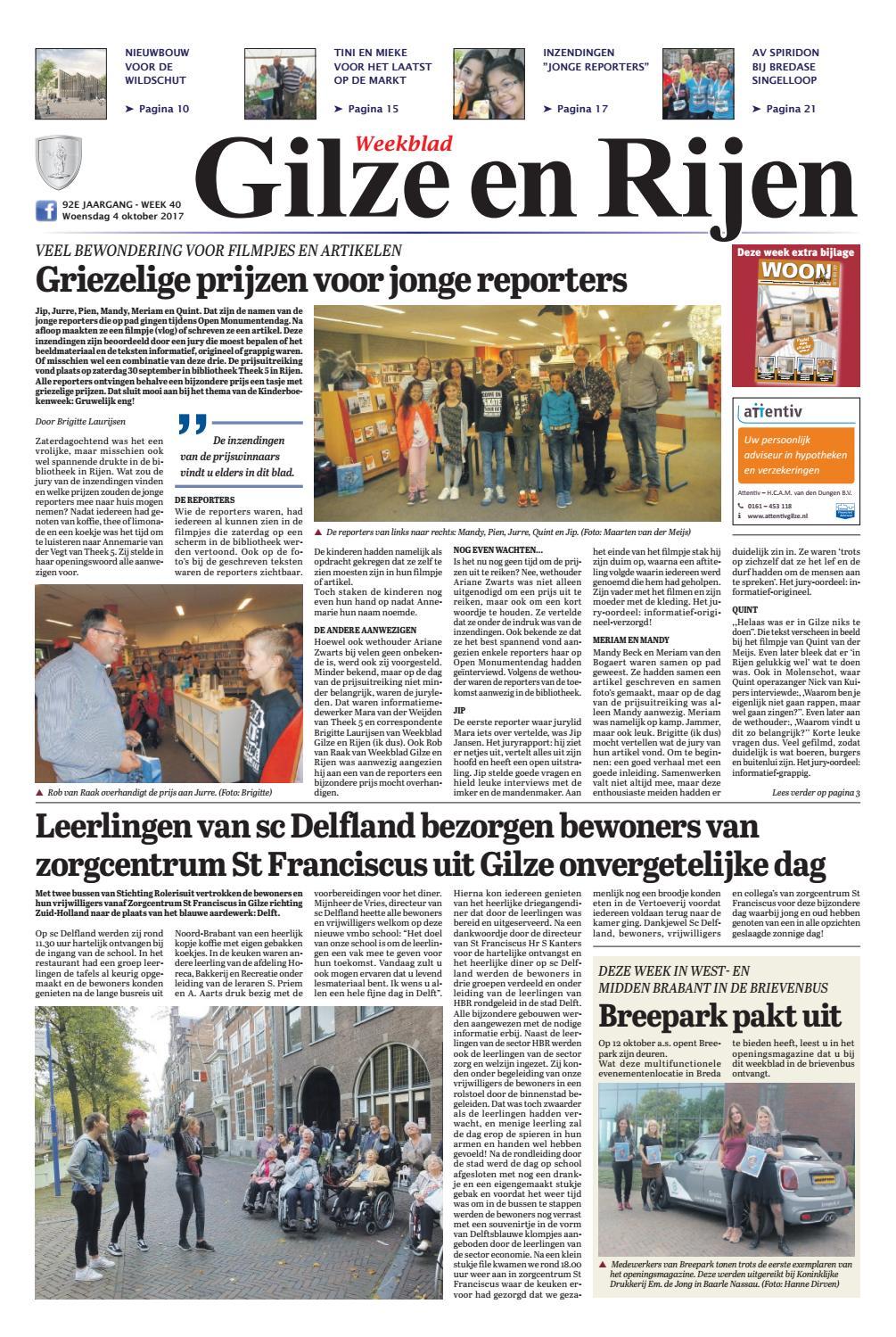 Dorst Glas En Slotenservice.Weekblad Gilze En Rijen 04 10 2017 By Uitgeverij Em De Jong Issuu