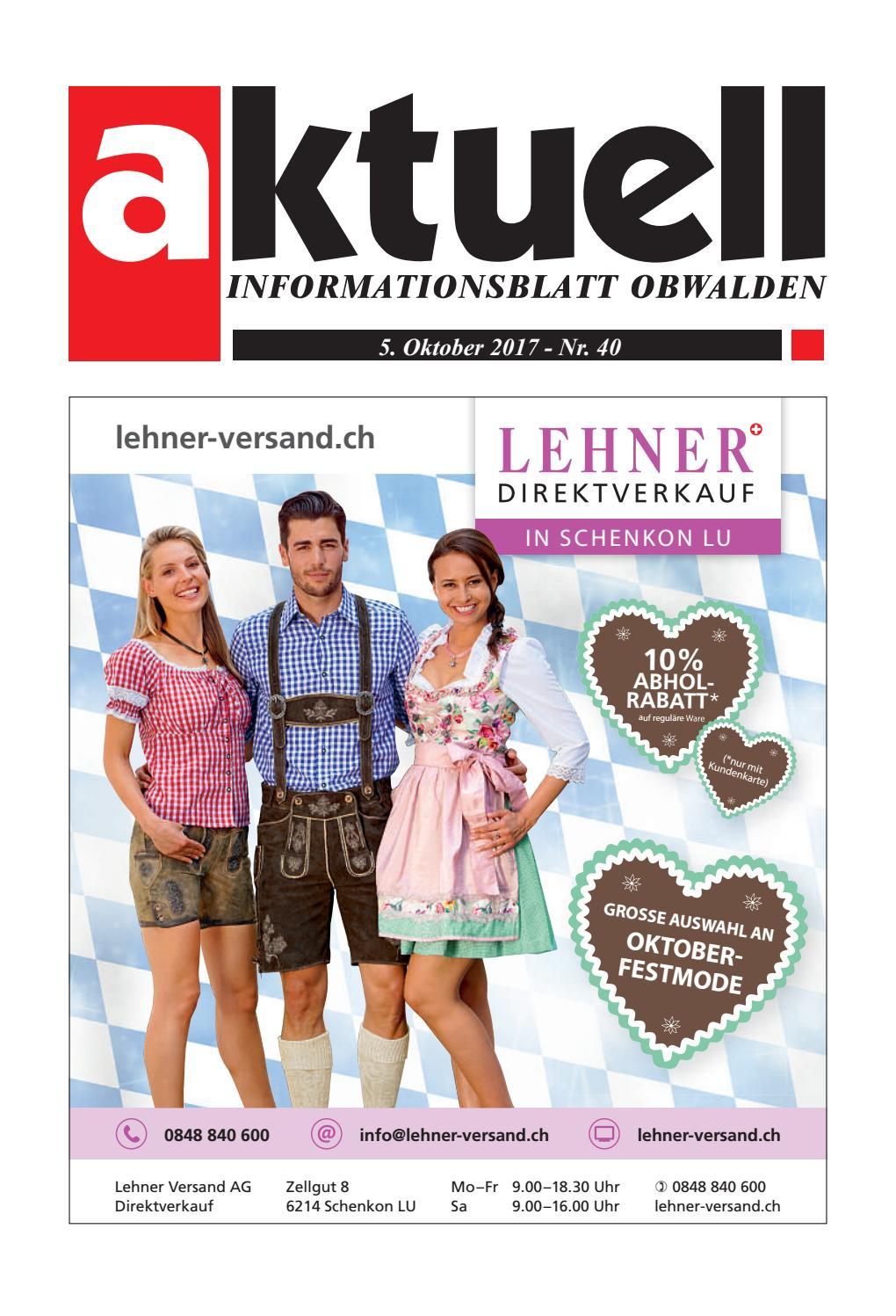 Aktuell Obwalden 40-2017 by Aktuell Obwalden AG - issuu bc2a348536