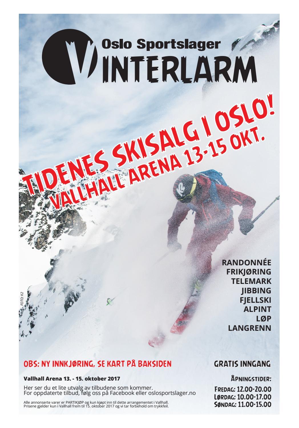 57cbf0a7 Oslo Sportslager Vinterlarm 2017 by Oslo Sportslager - issuu