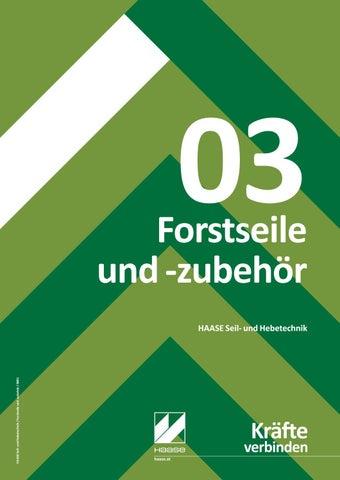 Haase Produktkatalog Kategorie Forstseile und -zubehör by ppa Group ...