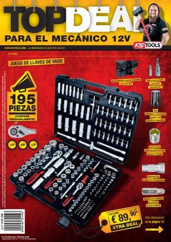 KS Tools 140.1065 Juego de montaje y desmontaje de lunas 13 pzs.