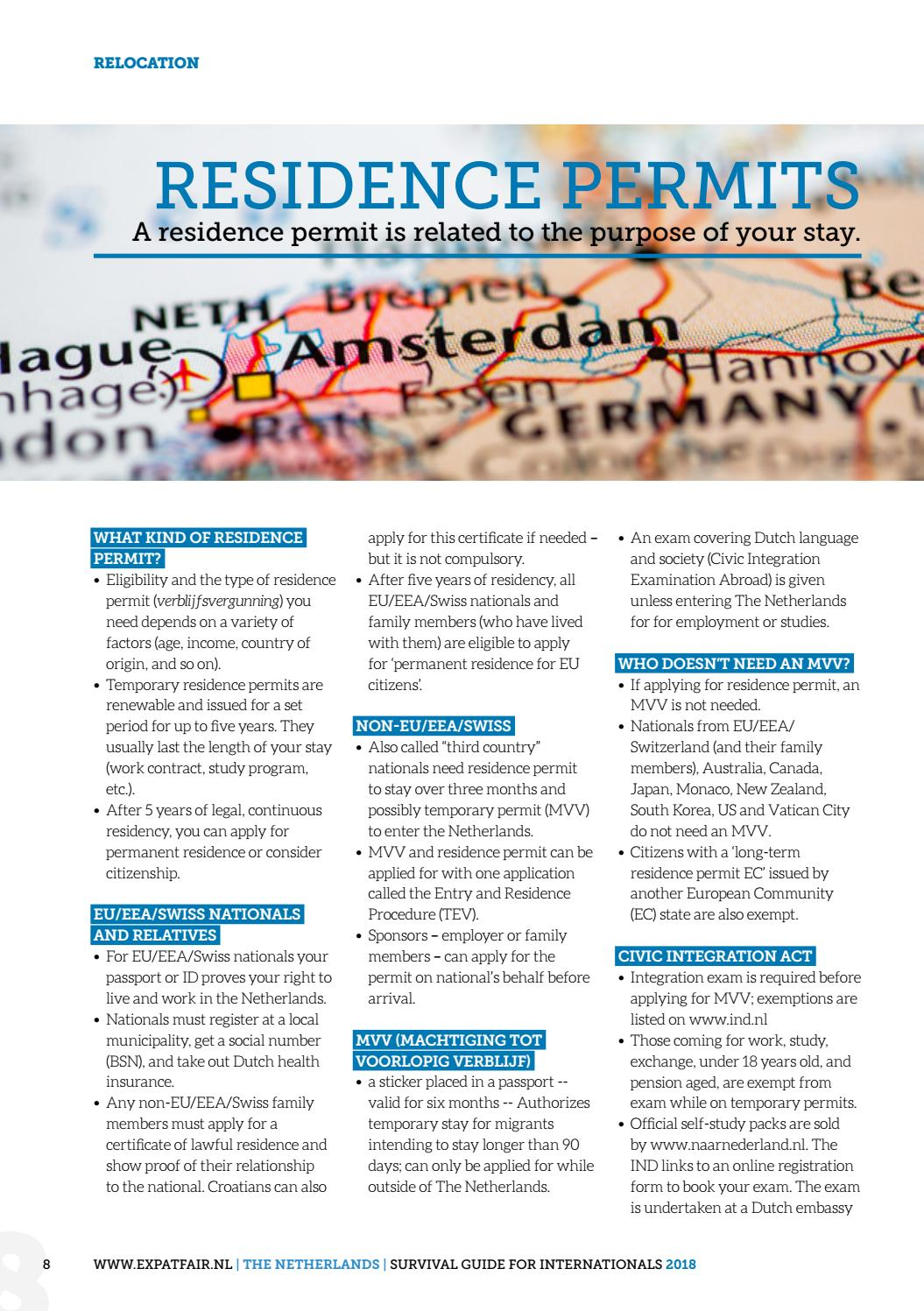 Expat Survival Guide 2018 - The Netherlands by i am not a