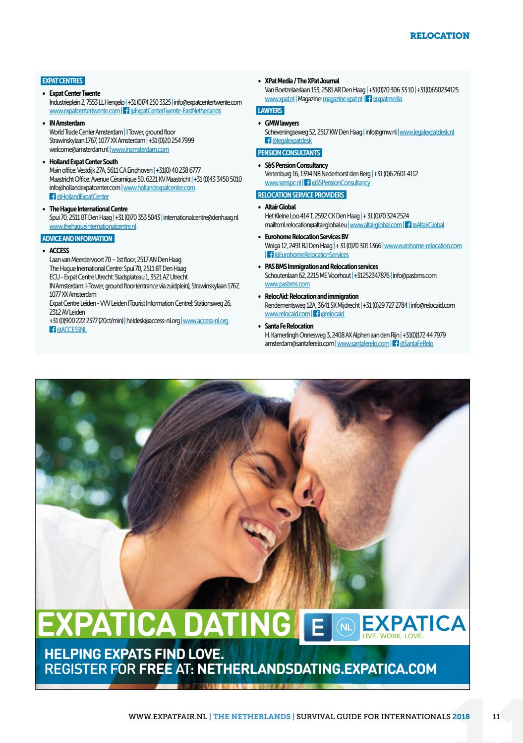 expat dating den Haag