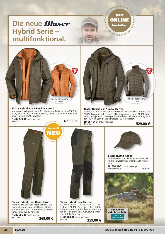 7113d20ea22b Katalog GRUBE Jagd, Natur&Freizeit 2017/2018 by Grube Poland - issuu