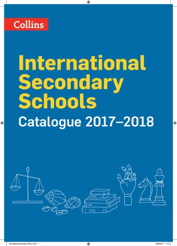 International Secondary Catalogue 2018 by Collins - issuu