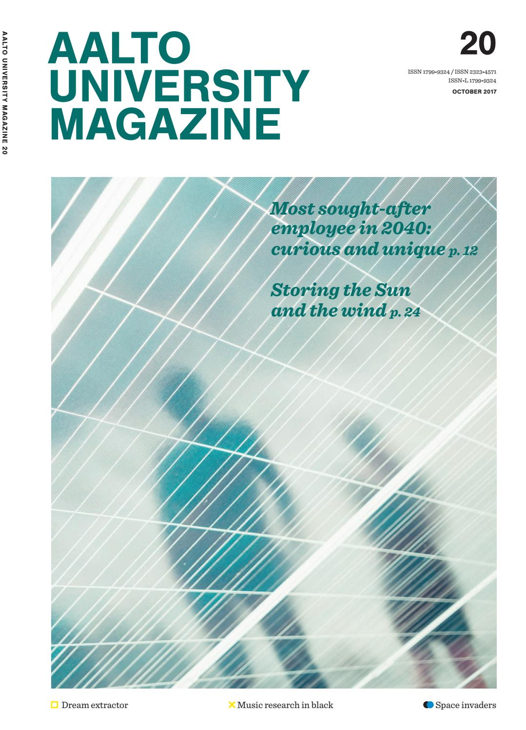 Aalto University Magazine 20 English Edition By Argentine Tango Steps Diagram Companion Ebook Issuu