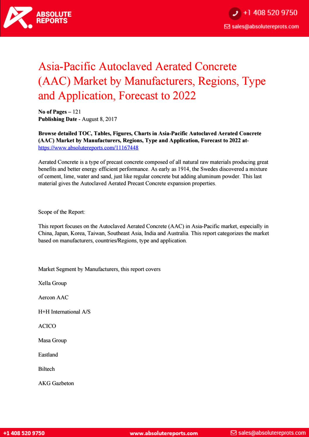 11167448 asia pacific autoclaved aerated concrete aac market by  manufacturers regions type and appli