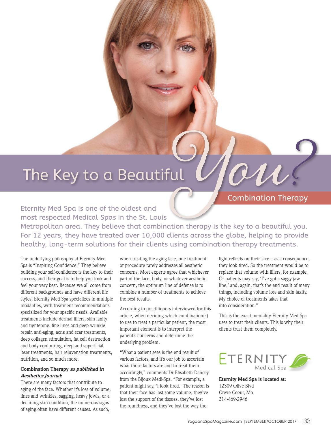 Yoga & Spa Magazine Sept/Oct 2017 The Healthy Woman Issue