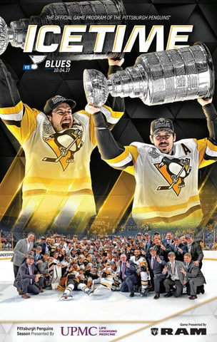 IceTime - Game 1 vs. St. Louis Blues 10.04.17. IceTime is the official game  program of the Pittsburgh Penguins 5fbf74c84