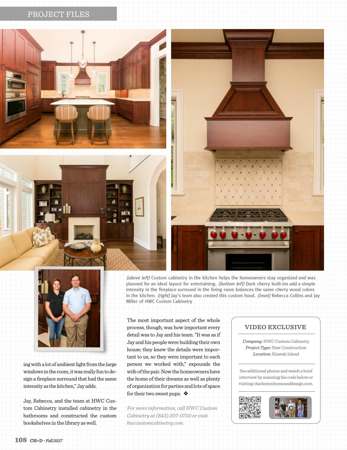 Charleston Home + Design Magazine: Fall 2017 By Charleston Home + Design  Magazine   Issuu
