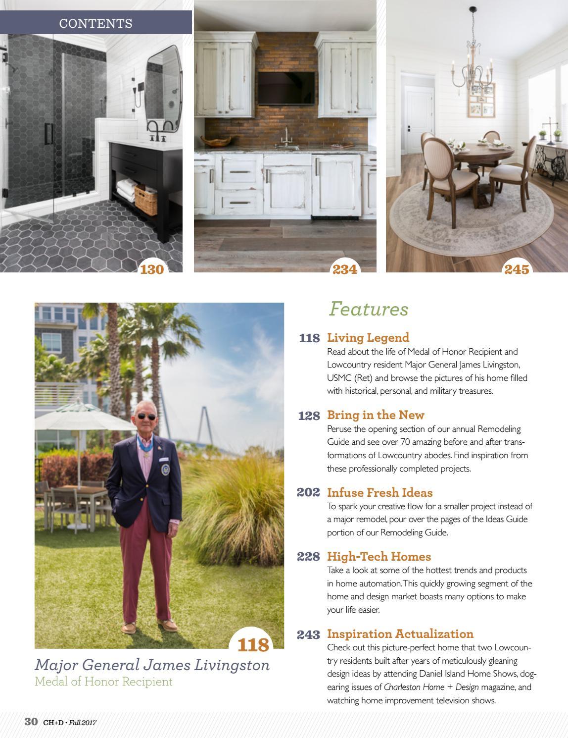 Charleston Home + Design Magazine: Fall 2017 by Charleston Home + ...