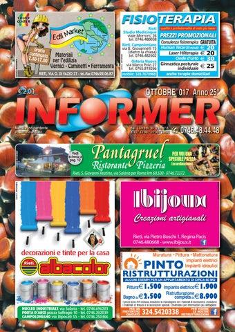 wholesale dealer d50ab e1a96 INFORMER ottobre 2017 by informer - issuu