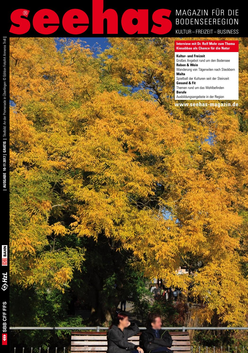 Seehas-Magazin Oktober November 2017 by Ernst Troll - issuu